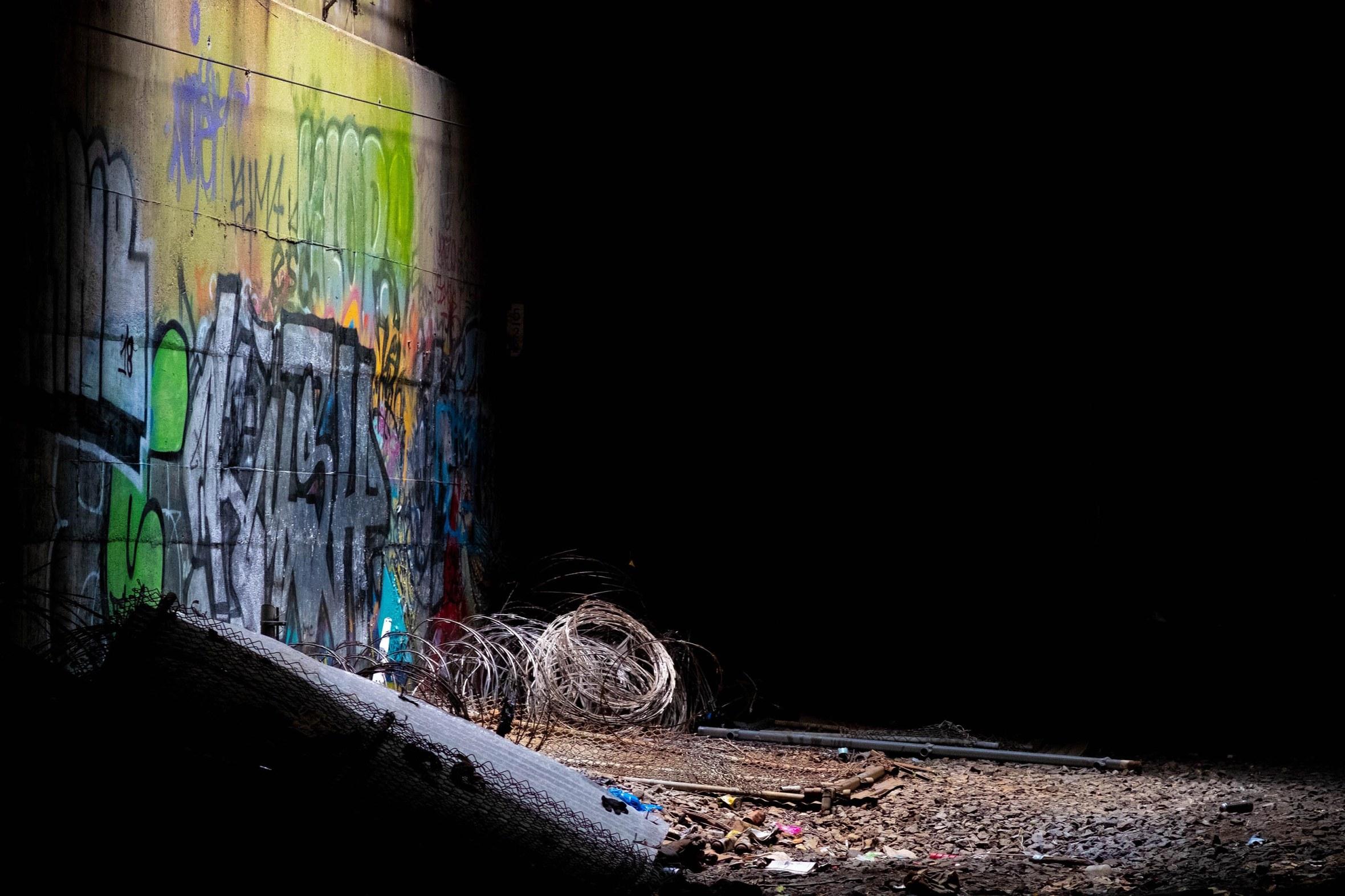 Freedom Tunnel 9